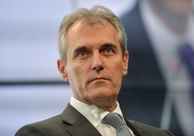Šéf rakouské ropné a plynařské společnosti OMV Rainer Seele