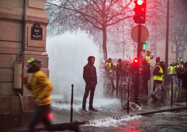 Protestní akce žlutých vest