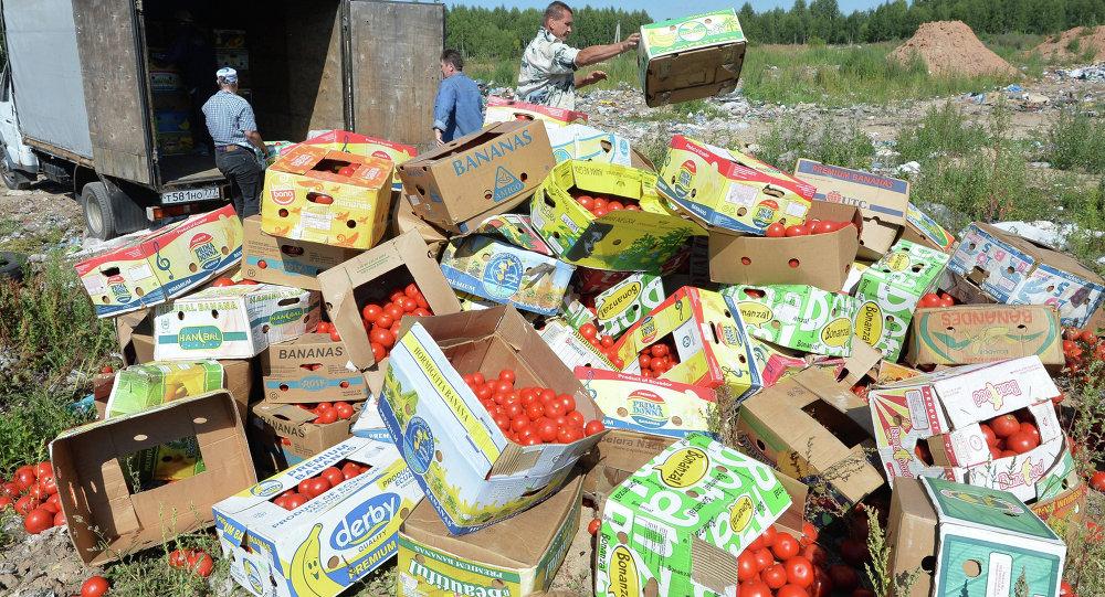Likvidace potravin v Rusku