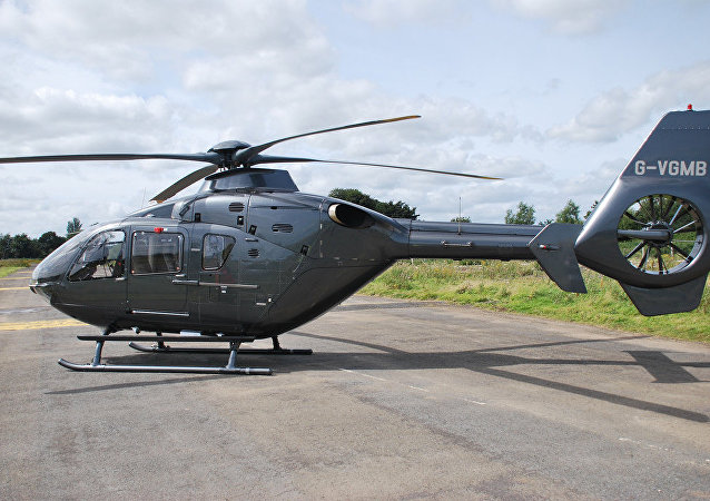 Eurocopter EC-135. Ilustrační foto