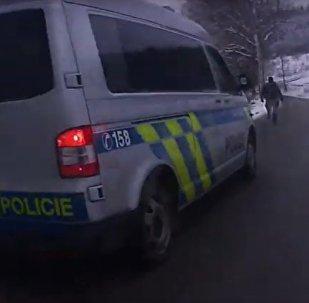 Čeští policisté dopadli cizince utíkajícího z Německa