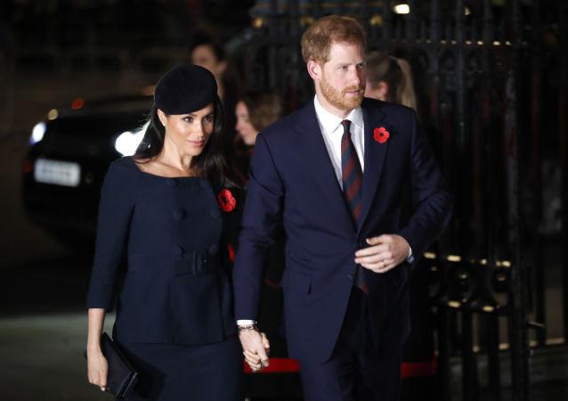 Megan Markleová a princ Harry