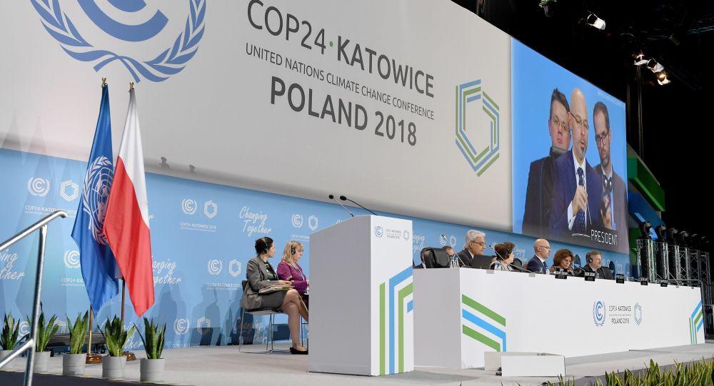 Světová konference OSN pro otázky změny klimatu v Katovicích