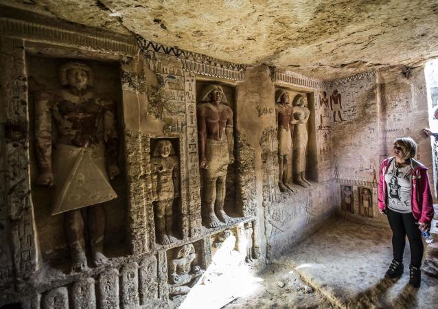 Unikátní hrobka velekněze v Sakkáře