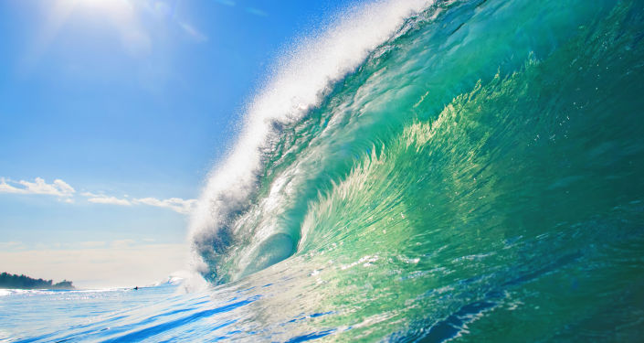 Vlna. Ilustrační foto