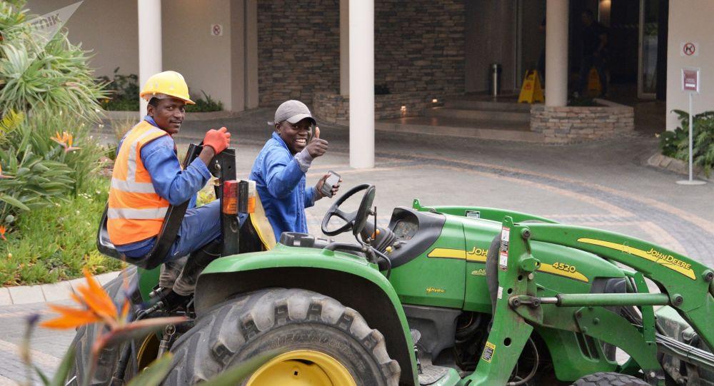 Pracovníci v JAR. Ilustrační foto