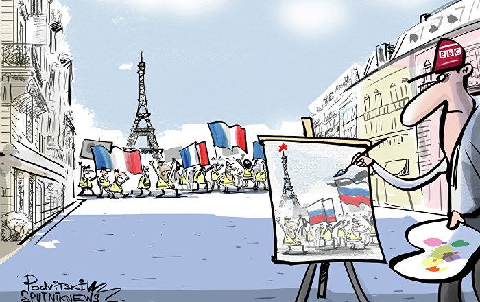 BBC šíleně chce najít ruskou stopu