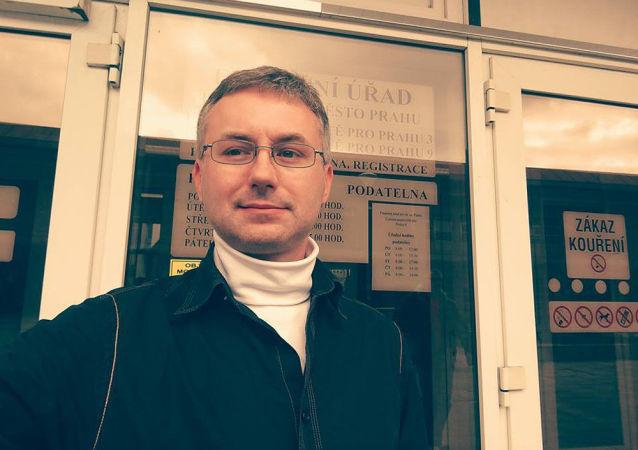 Bývalý místopředseda pražských Svobodných a nyní vlivný člen SPD Pavel Pešan