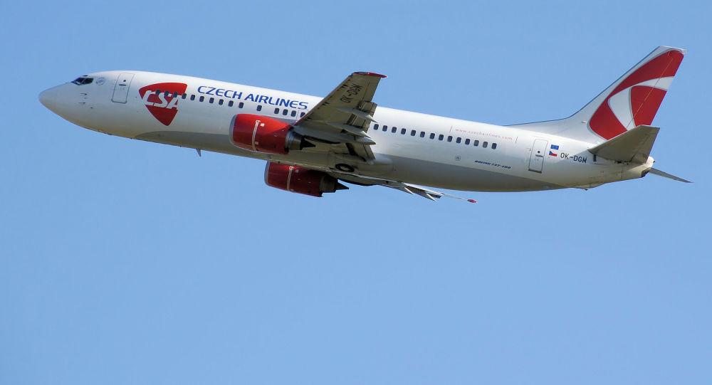 Letadlo společnosti Czech Airlines
