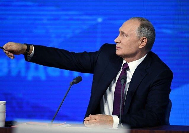 Putin a rapeři