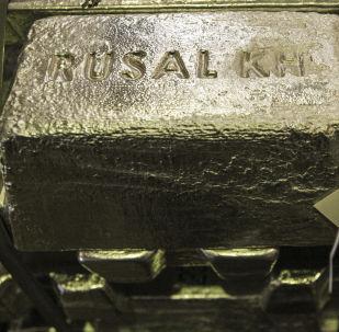 Houska hliníku společnosti Rusal