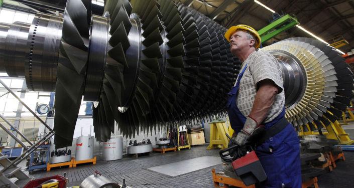 Továrna Siemens v Německu