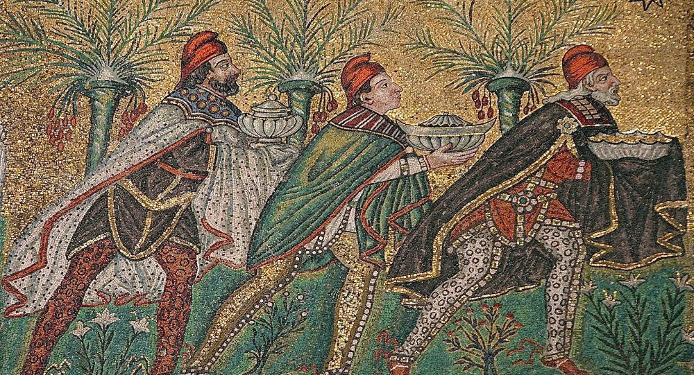 Tři králové: Tajemní mudrcové z Východu