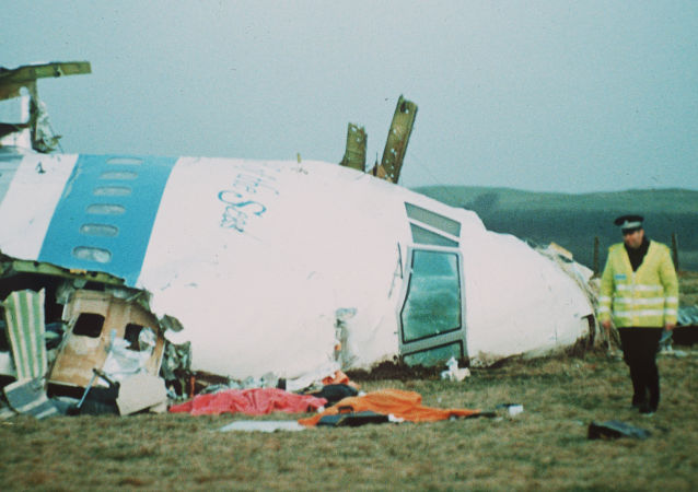 Trosky letadla Boeing 747 v Lockerbie
