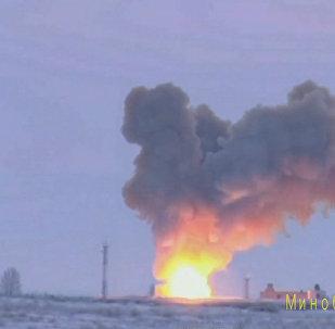 Avangarda: Raketa zasáhla cíl (VIDEO)