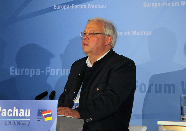 Novinář z rakouské televizní a rozhlasové společnosti ORF Christian Wehrschütz