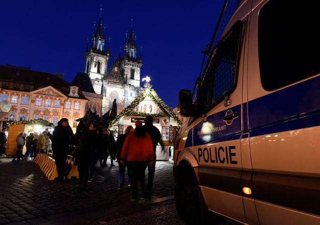 Policie v Praze. Ilustrační foto