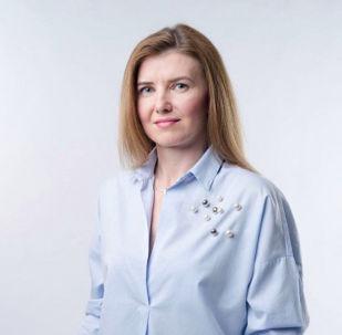 Předsedkyně Národní koalice SK Slavěna Vorobelová
