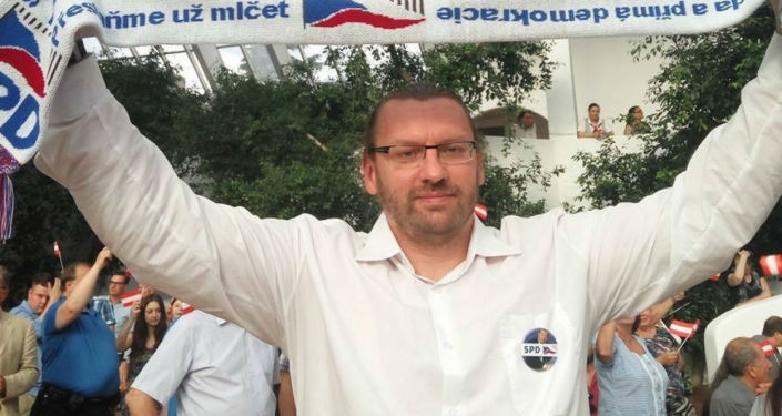 Poslanec SPD Lubomír Volný