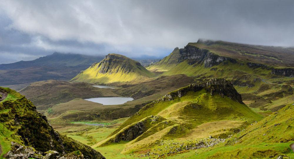 Ostrov Skye, Skotsko