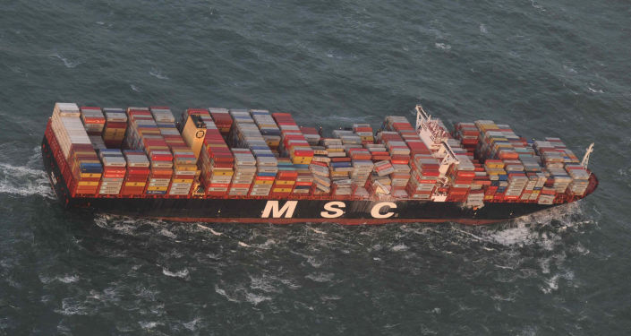 Nákladní loď MSC Zoe