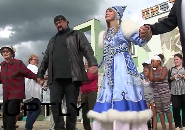 Steven Seagal v Jakutsku: jsem Rus