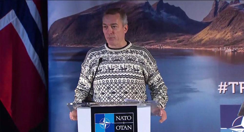 ministr obrany Norska Frank Bakke-Jensen