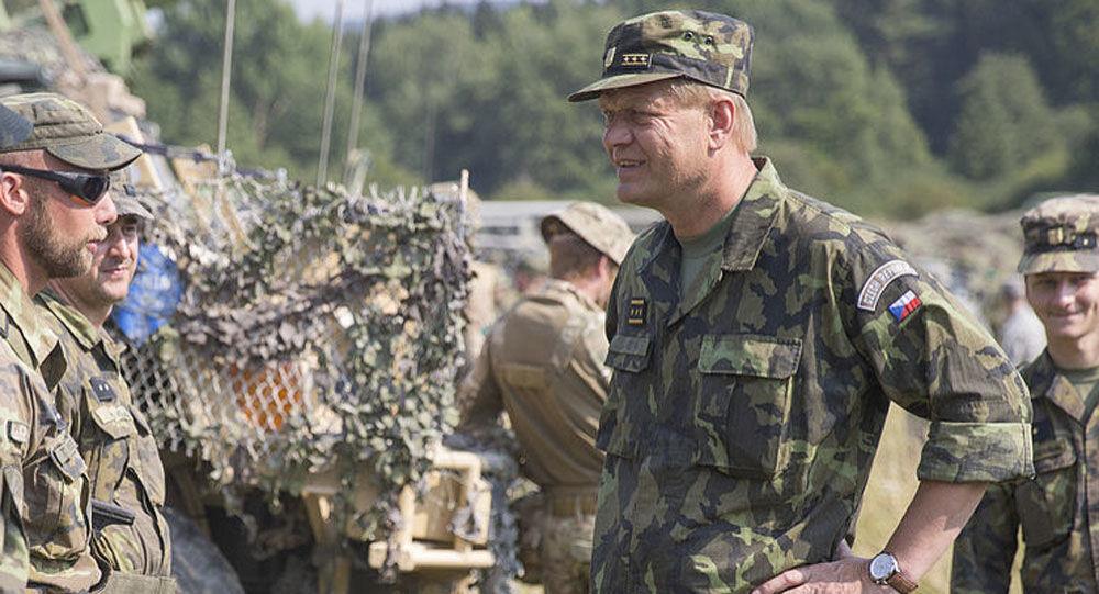 Český generál Josef Bečvář