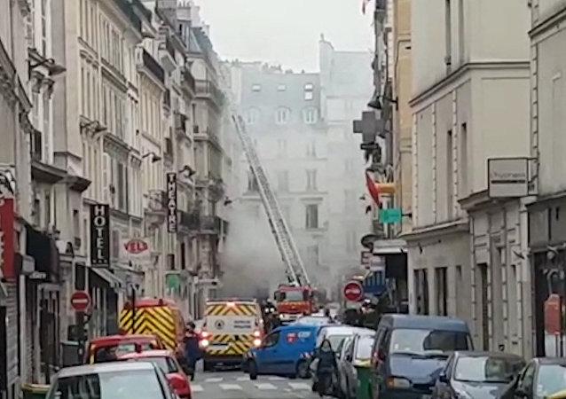 Silný výbuch v centru Paříže si vyžádal nejméně 20 zraněných