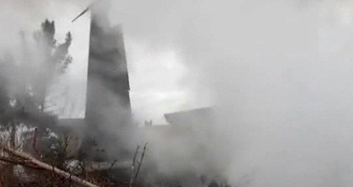 Havárie Boeingu 707 v Íránu
