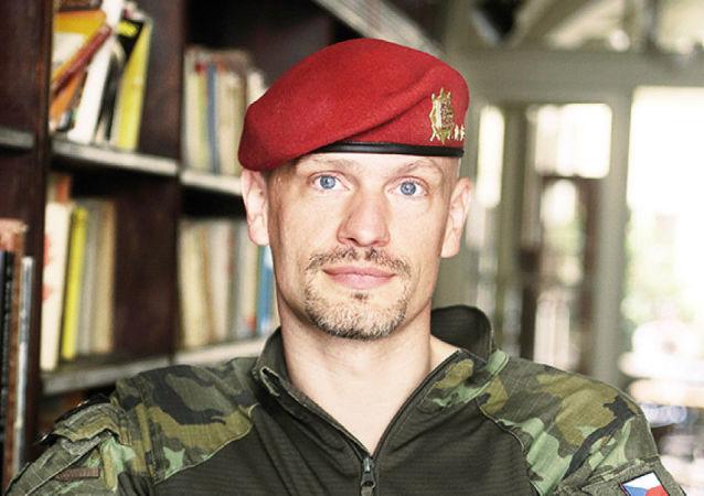 Podplukovník a výsadkář Ivo Zelinka
