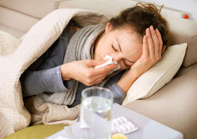 Nemocná žena. Ilustrační foto
