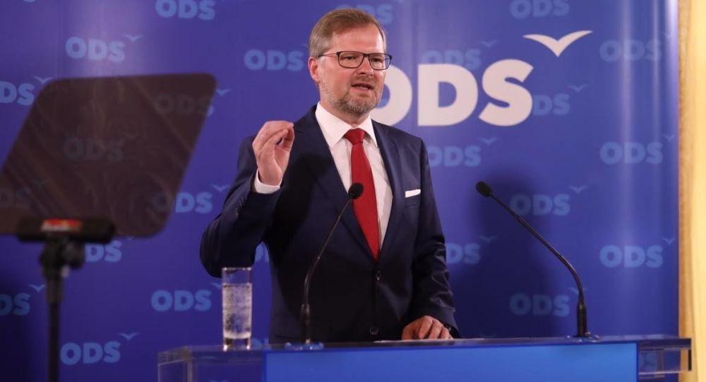 Lídr české politické strany Petr Fiala