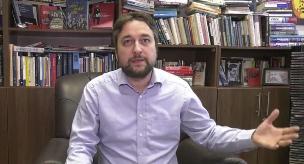 Slovenský politolog, filozof a doktor Ľuboš Blaha