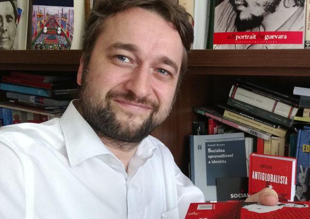 Словацкий политолог Любош Блаха