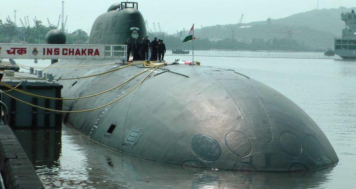 Ponorka К-152 Něrpa