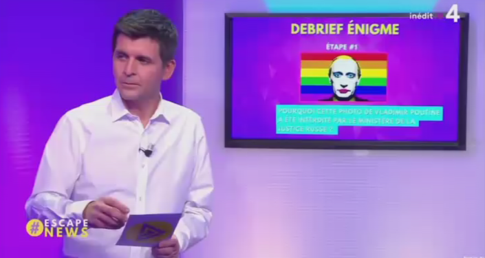 Pořad Escape News stanice France 4