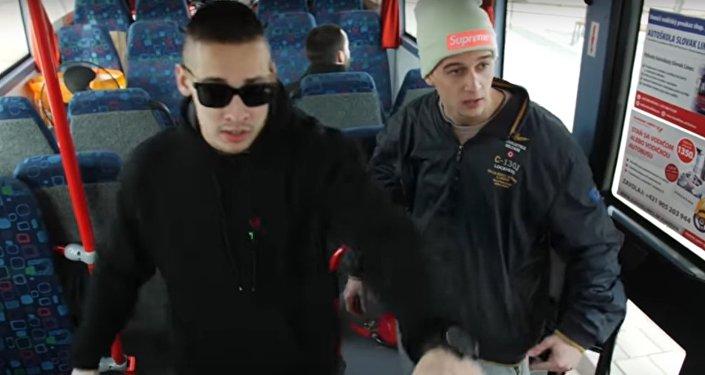 Typy cestujících. Slovenská verze.