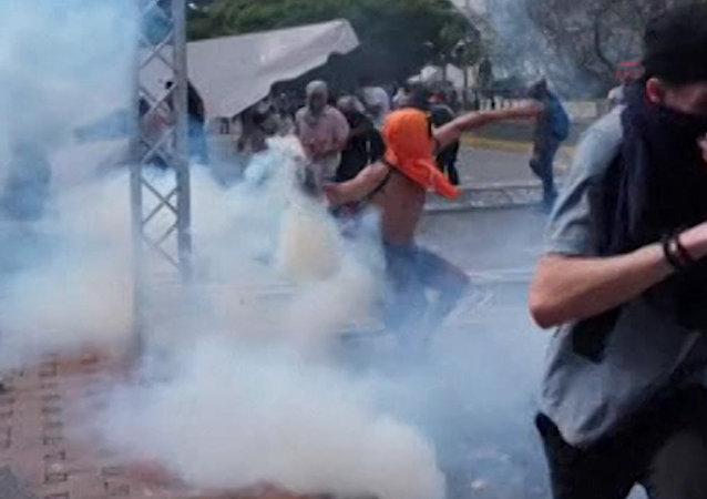 Pokus o státní převrat ve Venezuele