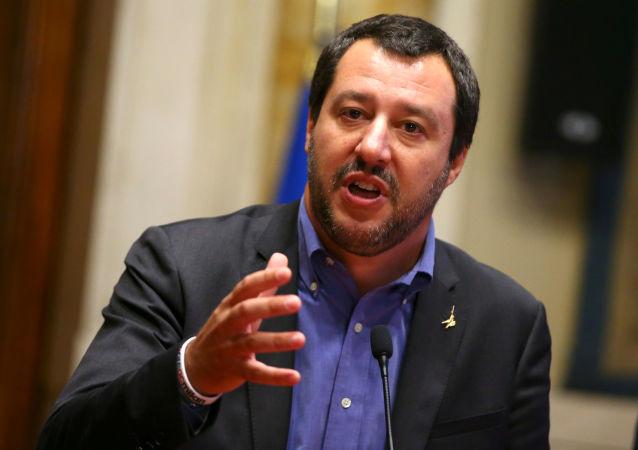 Matteo Salvini je italský politik