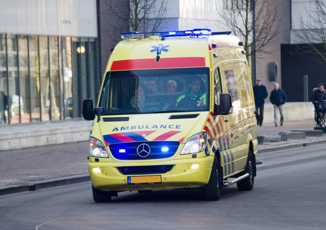 Záchranka v Nizozemsku