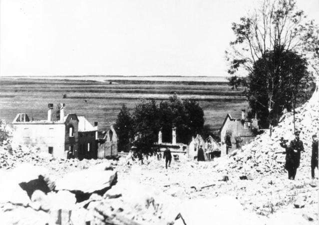 Ničení obce Lidice