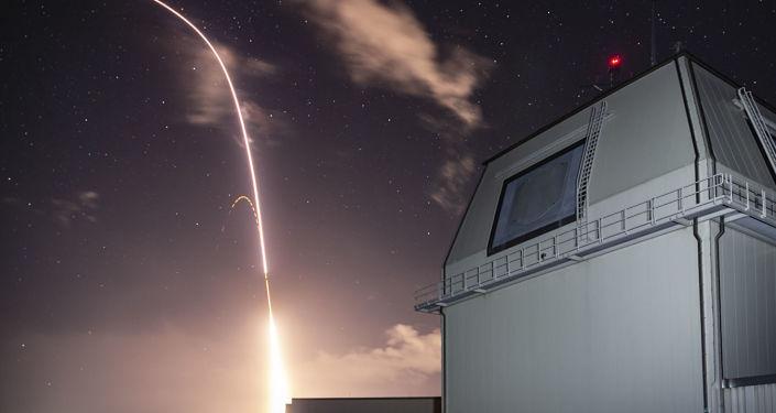 Zkouška v rámci amerického programu globální protiraketové obrany v Tichém oceánu