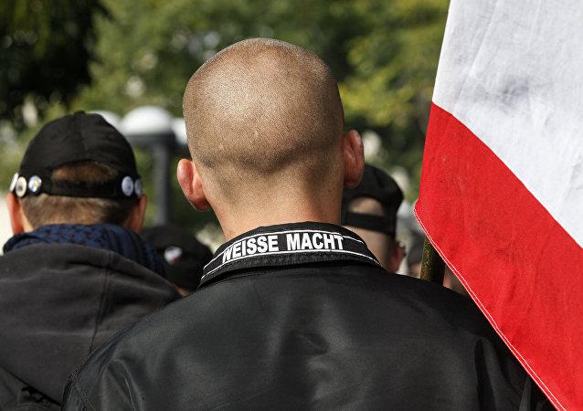 deutsche Neonazis - Weiße Macht (Archivbild)
