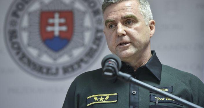 Bývalý prezident policejního sboru SR Tibor Gašpar