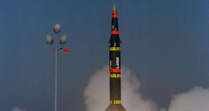 Start americké rakety středního doletu Pershing-2