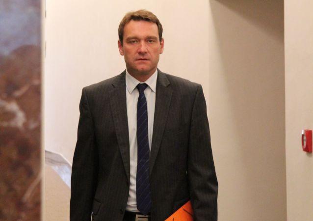 Místopředseda hnutí SPD Radim Fiala