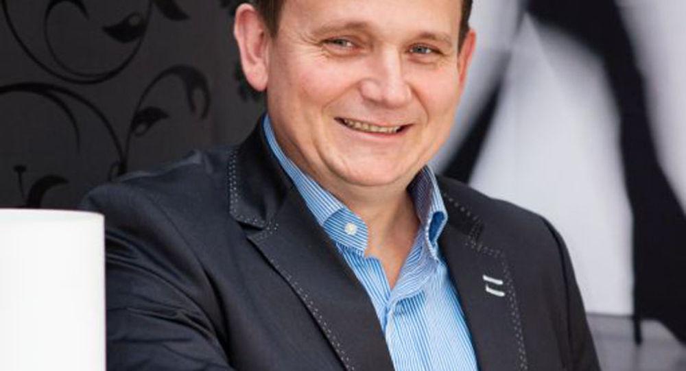 Předseda hnutí Práca slovenského národa Roman Stopka