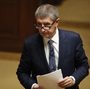 Premiér vlády České republiky Andrej Babiš
