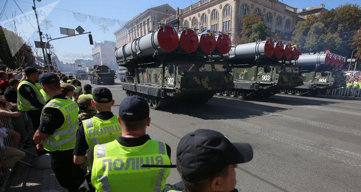 S-300 na přehlídce v Kyjevě